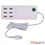Зарядка USBx2 / 5V / 60W 12A / 6 USB x 2A