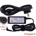 Зарядка 3,0x1,0mm / 19V / 40W 2,1A / PA-1400-14 Samsung