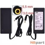 Зарядка 5,5x3,0mm / 19V / 90W 4,74A / AA-PA1N90W Samsung (копия) (без силового кабеля)