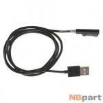 DATA кабель Sony Xperia Z1 (C6903) BT-SNEC21 магнитный 1m черный