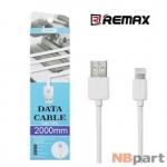 DATA кабель USB - Lightning Remax RC-06i 2m белый