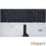 Клавиатура для Toshiba Satellite R840 черная с черной рамкой