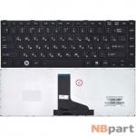 Клавиатура для Toshiba Portege M800 черная с черной рамкой