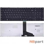 Клавиатура для Toshiba Satellite C50-A черная с черной рамкой