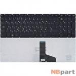 Клавиатура для Toshiba Satellite P55 черная без рамки (Вертикальный Enter)