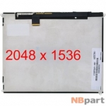Дисплей 9.7 / шлейф 51 pin 2048x1536 3mm / LP097QX1(SP)(A2) / Apple Ipad 3