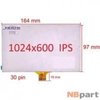 Дисплей 7.0 / шлейф 30 pin 1024x600 (97x164mm) 3mm / C0702630FPCJ
