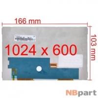 Дисплей 7.0 / FPC 31 pin 1024x600 (103x166mm) 3mm / BP070WS1-500 / Lenovo IdeaTab A3000