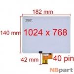 Дисплей 8.0 / шлейф 40 pin 1024x768 (140x182mm) 3mm / HL080NA-04C