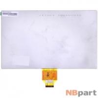 Дисплей 10.1 / шлейф 40 pin 1024x600 (143x235mm) 3mm / DX1010BE40F0