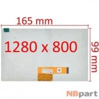 Дисплей 7.0 / шлейф 39 pin 1280x800 (99x165mm) 3mm / TPV-AM070NB02A / Amazon Fire HD 7 (SV98LN) (2015 5th Gen)