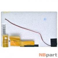 Дисплей 7.0 / шлейф 60 pin 1024x600 (105x165mm) 3mm / 470H60T5211 / Провод на подсветку