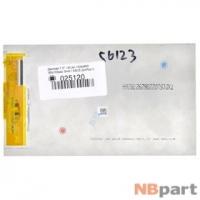 Дисплей 7.0 / FPC 40 pin 1024x600 (95x163mm) 3mm / ASUS ZenPad C 7.0 (Z170MG) p001