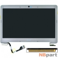 Крышка матрицы в сборе для Acer Aspire S3-371 серебристый