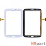 Тачскрин для Samsung Galaxy Note 8.0 N5100 (3G & Wifi) ITO.3677 Ver.2 белый (С отверстием под динамик)