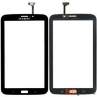 Тачскрин для Samsung Galaxy Tab 3 P3200 (GT-P3200) 3G черный (С отверстием под динамик)