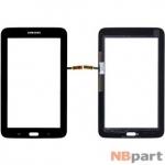 Тачскрин для Samsung Galaxy Tab 3 7.0 Lite SM-T110 (WIFI) черный (Без отверстия под динамик)