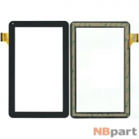 Тачскрин 10.1 45 pin (160x258mm) HC257159A1 FPC032H V1.0 черный