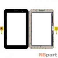 Тачскрин 7.0 6 pin (118x190mm) FPC-TPT-070-109-01 черный (С отверстием под динамик)