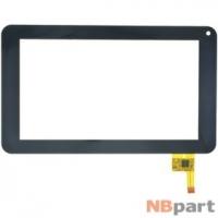Тачскрин 7.0 12 pin (111x186mm) TOPSUN-C0093-A6 черный