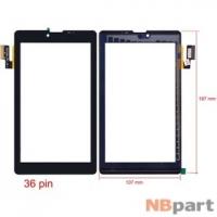 Тачскрин 7.0 36 pin (107x188mm) SG5740A-FPC-V3-1 черный (С отверстием под динамик)