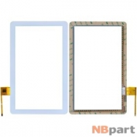 Тачскрин 10.1 6 pin (155x250mm) RS10F1609043PSV1.6 белый