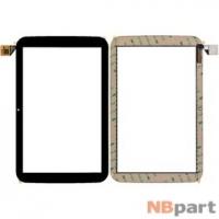 Тачскрин 10.1 6 pin MIPI (161x255mm) GSL3680B F800123C-1 T101WXHS02A02 черный