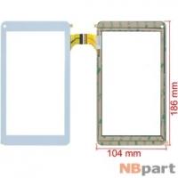 Тачскрин 7.0 30 pin (104x186mm) XC-PG0700-028-A2-FPC белый