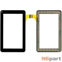 Тачскрин 7.0 30 pin (111x186mm) XRDPG-070-34 черный (Без отверстия под динамик)