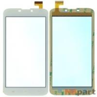 Тачскрин 6.0 30 pin (85x165mm) FPC-60B2-V02 белый