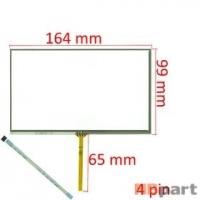 Тачскрин 7.0 4 pin (100x165mm) BD0809B