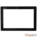 Тачскрин для Lenovo ideapad Miix 310-10ICR FPC101-0922AT черный с рамкой