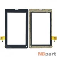 Тачскрин 7.0 6 pin (112,5x197,5mm) FPC-C070T1014DA0 черный