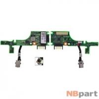 Шлейф / плата HP Compaq Mini 110c-1000 / 537615-001 на разъем питания