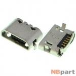 Разъем системный Micro USB - HTC Desire HD (G10) (оригинал) / MC-258