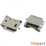 Разъем системный Micro USB - Alcatel OneTouch PIXI 3 (10) 3G (9010x)