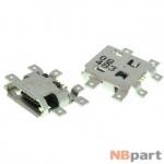 Разъем системный Micro USB - HTC One (оригинал) / MC-058