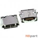 Разъем системный Micro USB - Samsung Wave GT-S8500 (оригинал) / MC-064
