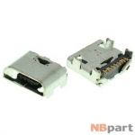 Разъем системный Micro USB - Samsung Galaxy Grand (GT-I9082) (оригинал) / MC-168