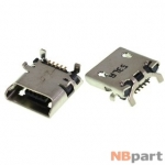 Разъем системный Micro USB - ASUS Fonepad 7 FE170CG (K012) (оригинал) / MC-312