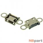 Разъем системный Micro USB - Samsung Galaxy S6 SM-G920 (оригинал) / MC-304