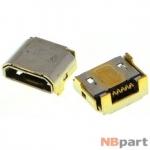 Разъем системный Micro USB - HTC One M8 (оригинал) / MC-353