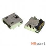 Разъем системный Micro USB - HTC Flyer P510e (оригинал) / MC-227