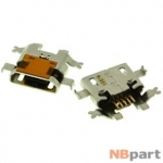 Разъем системный Micro USB - HTC Desire VT (T328T) (оригинал) / MC-348