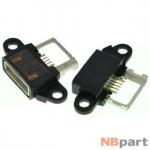 Разъем системный Micro USB - Xiaomi Mi Note (оригинал) / MC-276 черный