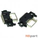 Разъем системный Micro USB - Xiaomi Mi4i (оригинал) / MC-277 черный