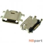 Разъем системный Micro USB - Meizu M1 note (оригинал) / MC-285