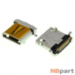 Разъем системный Micro USB - Meizu MX2 M040 M045 (оригинал) / MC-325