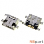 Разъем системный Micro USB - Huawei P7 (оригинал) / MC-290