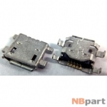 Разъем системный Micro USB - Huawei C8813 (оригинал) / MC-302